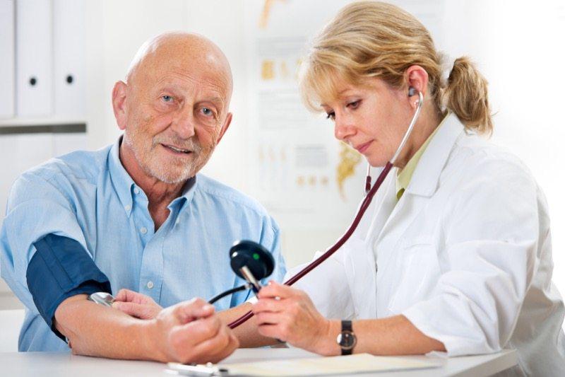 stable blood pressure at nursing home un forest hills