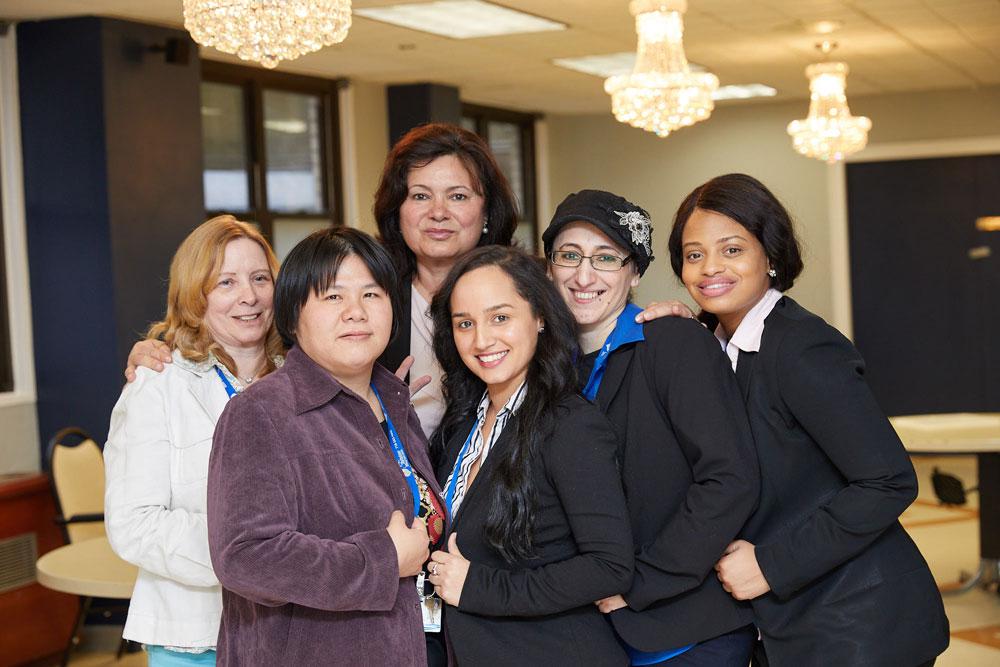 Fairview rehab professional nursing staff provides hospice care.