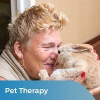 Pet Therapy at Fairview Rehab and Nursing Home in Foresthills Queens, NY