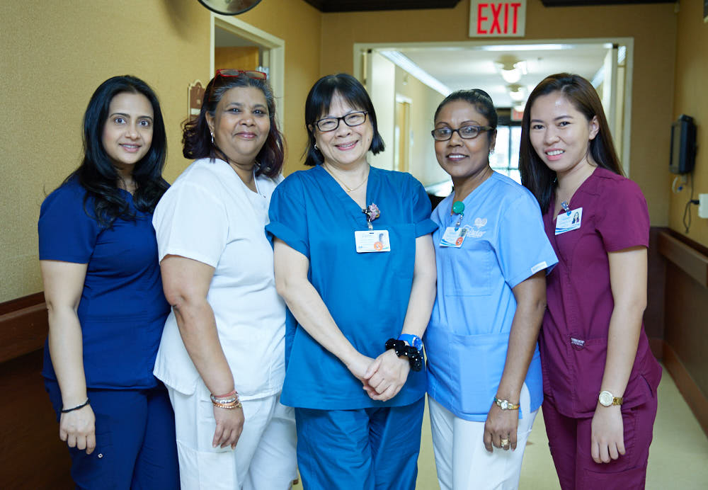 Fairview Rehab Nursing Home skilled nursing care team