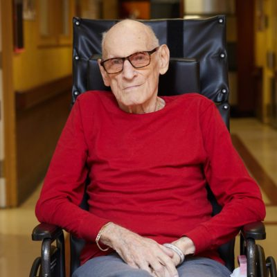 Edward Zand, Fairview patient