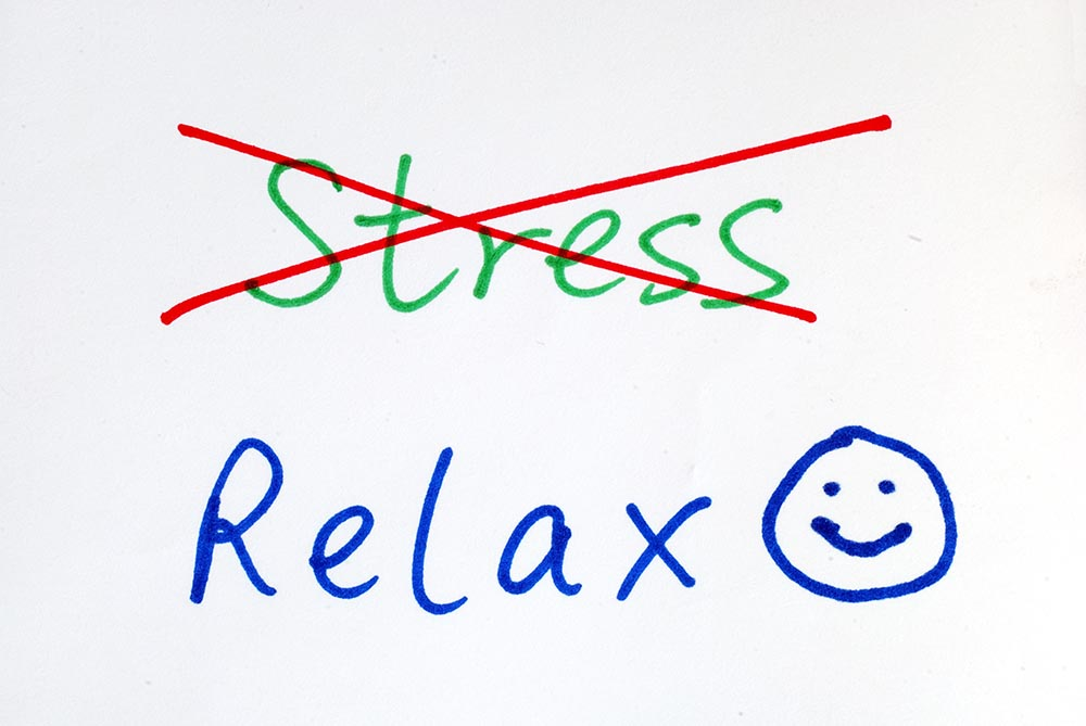 picture about being relax and not to take stress